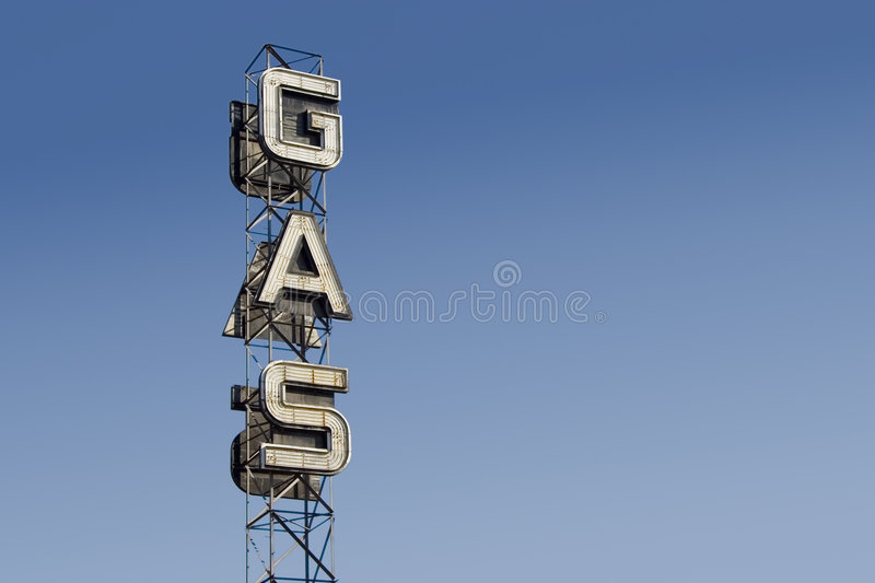 Gas Sign 3 Royalty Free Stock Photos
