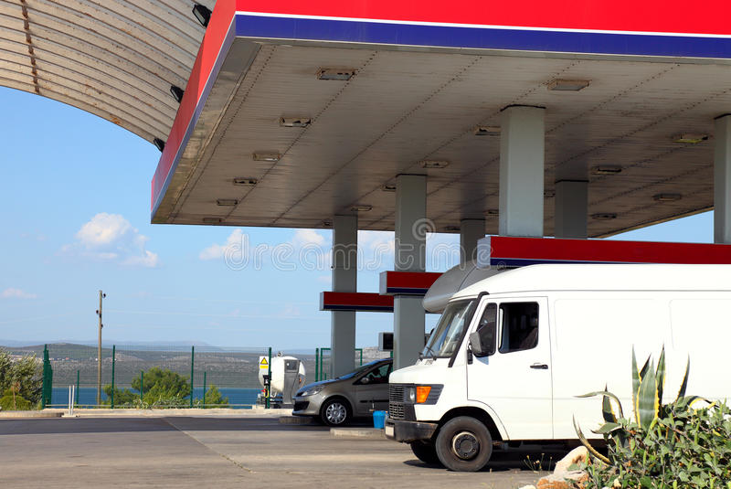 Download Gas station stock photo. Image of gasoline, expensive - 21052398