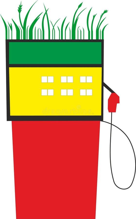 Download Gas station stock vector. Illustration of camper, travel - 22302849