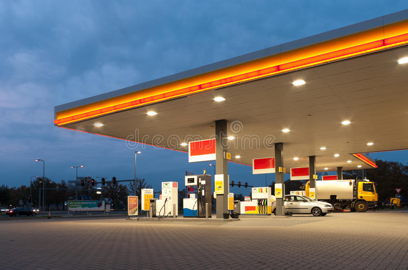Download Gas station stock image. Image of gasstation, petrol - 22458049