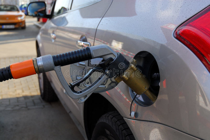 Download At the Gas Station stock photo. Image of petrol, business - 4420724
