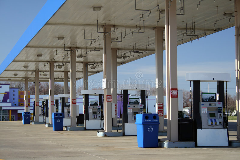 Download GAS STATION Royalty Free Stock Image - Image: 8847306