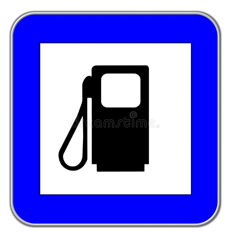 Gas Station Symbol Stock Illustration Illustration Of Sign 6733400