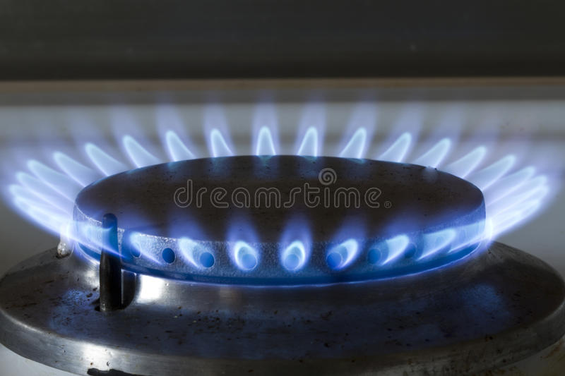 Download Gas stove burner stock image. Image of methane, burn - 18423255