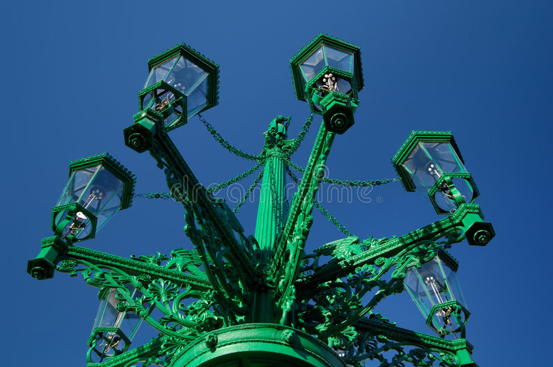 Download Gas Streetlamp Royalty Free Stock Images - Image: 3615369