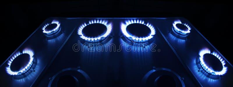 Gas-stufa fotografie stock libere da diritti