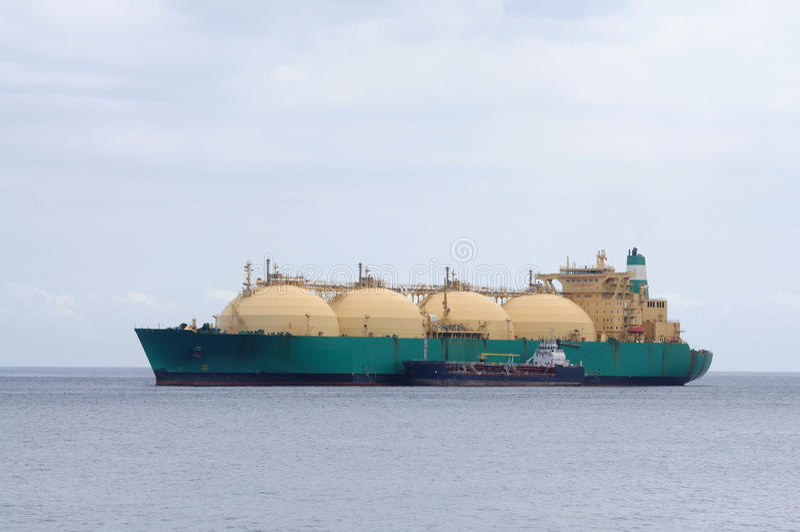 Gas Tanker Royalty Free Stock Photo