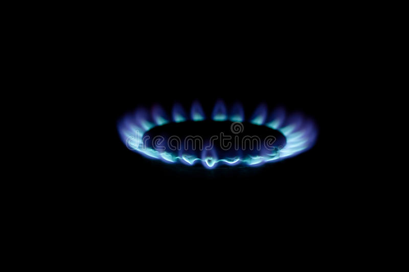 Download Gas torch stock photo. Image of black, flames, blue, conical - 18083432