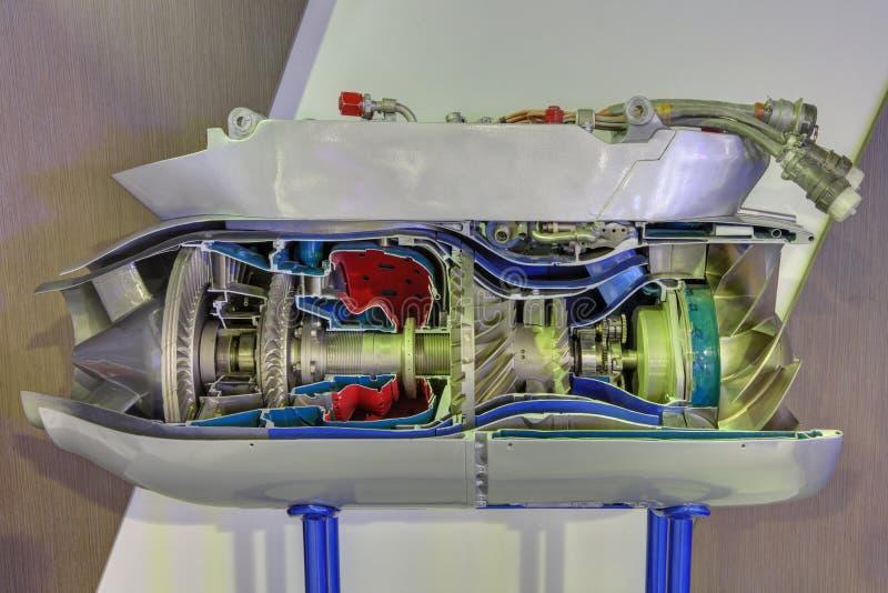 Gas turbine engine stock photography