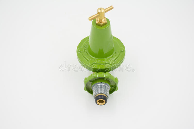 Gas valve regulator high pressure stock photography