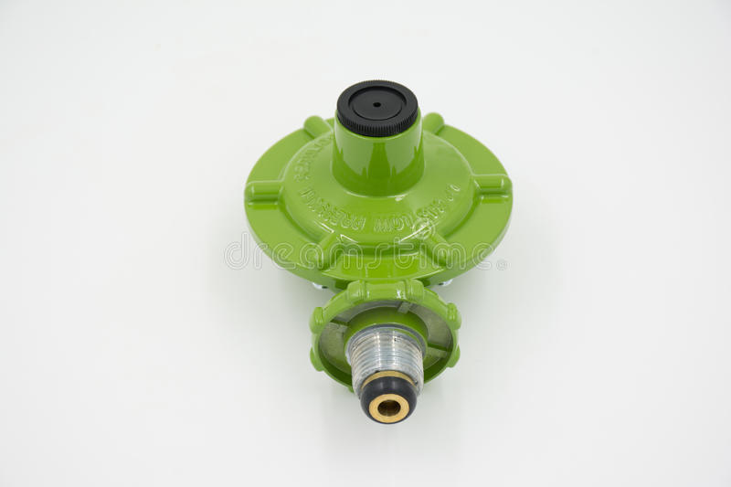 Gas valve regulator low pressure royalty free stock photo