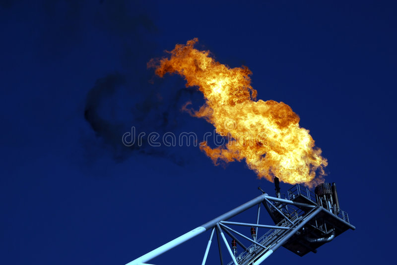 Download Gas Vent Flare stock image. Image of industry, inject - 1563751