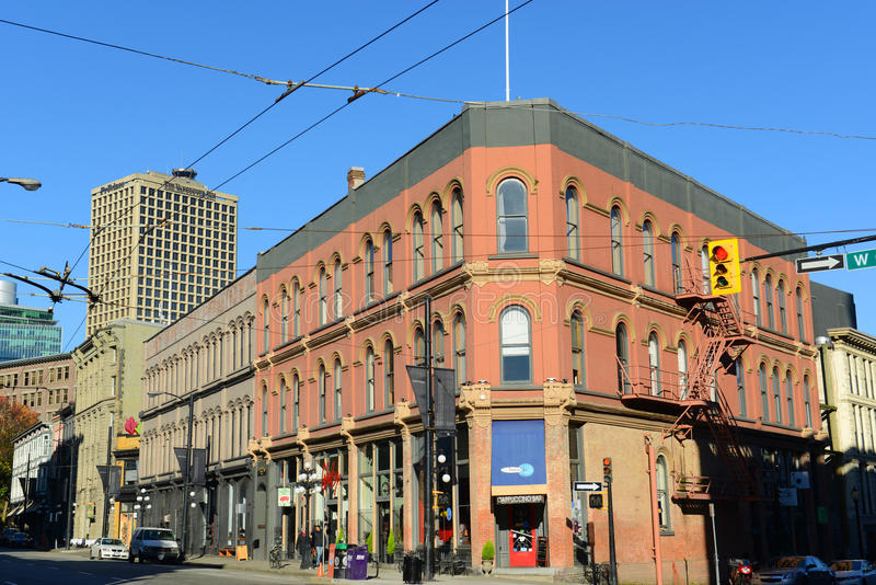 Gasa staden, den Vancouver staden, F. KR., Kanada royaltyfria foton