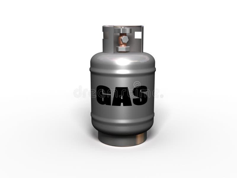 Gasbecken. lizenzfreie abbildung
