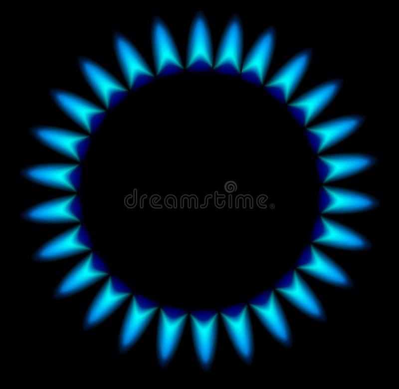 Gasbrännare För Gasugn Arkivbilder