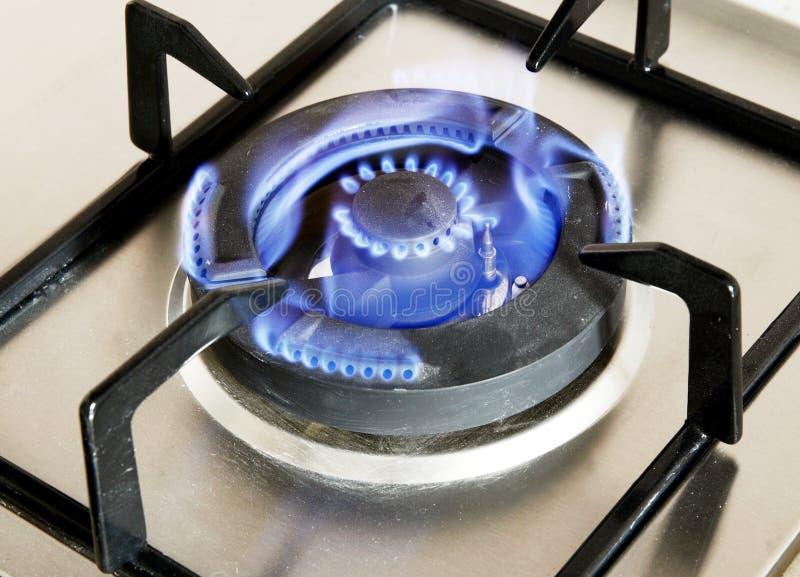 gasbrännaregas royaltyfria bilder