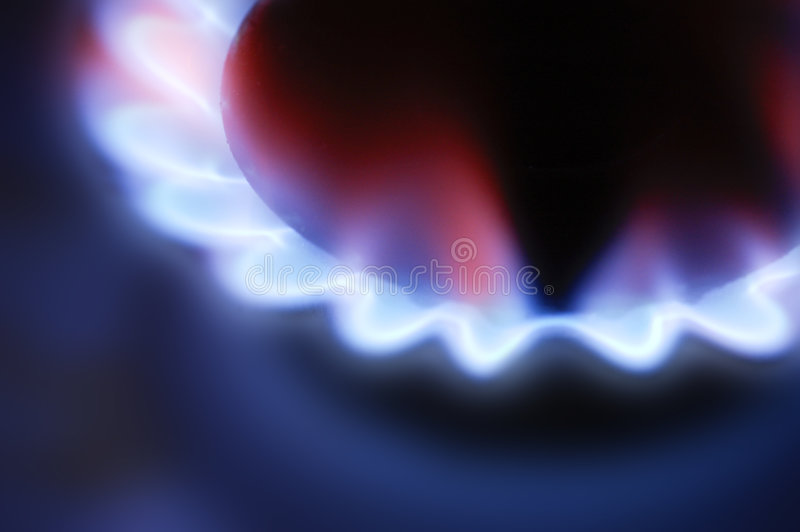 gasbrännaregas royaltyfri foto