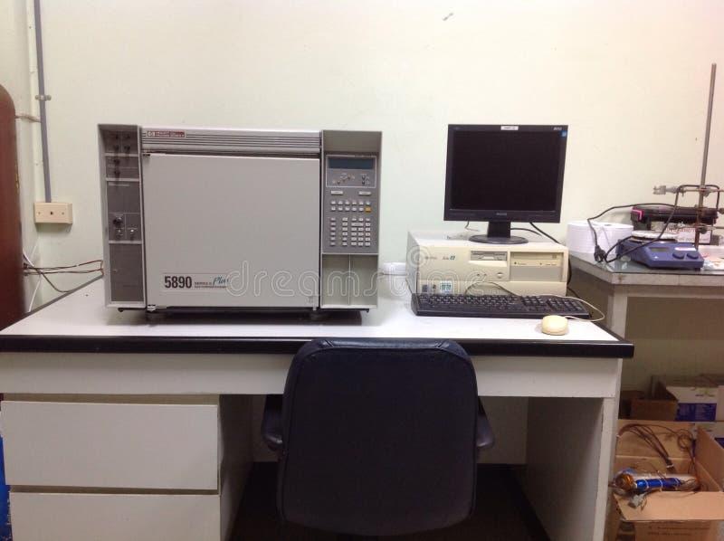 Gascromatografia immagini stock