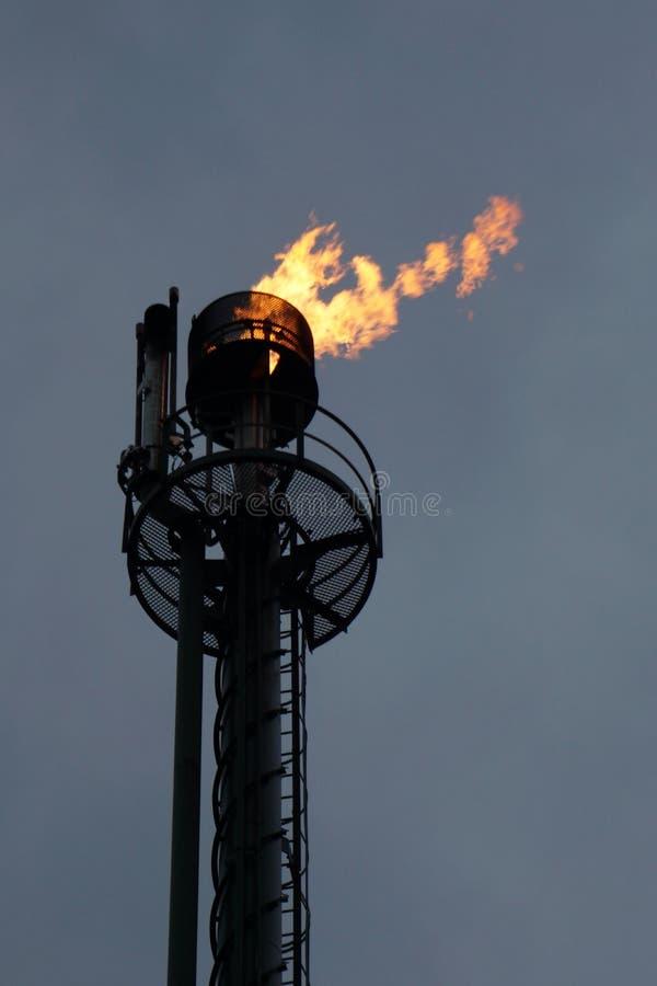 Gasextraktion Groningen [Die Niederlande] 3 stockfotografie