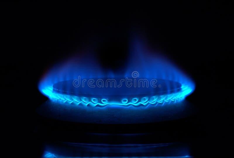 Gasfornuis royalty-vrije stock afbeelding