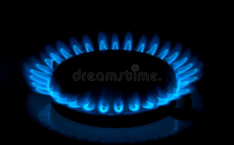Gasfornuizen royalty-vrije stock afbeelding