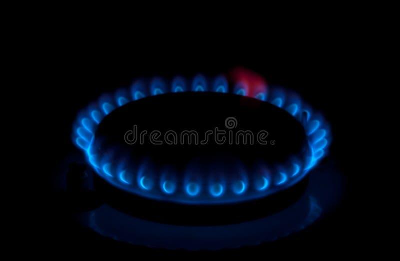 Gasfornuizen stock afbeelding