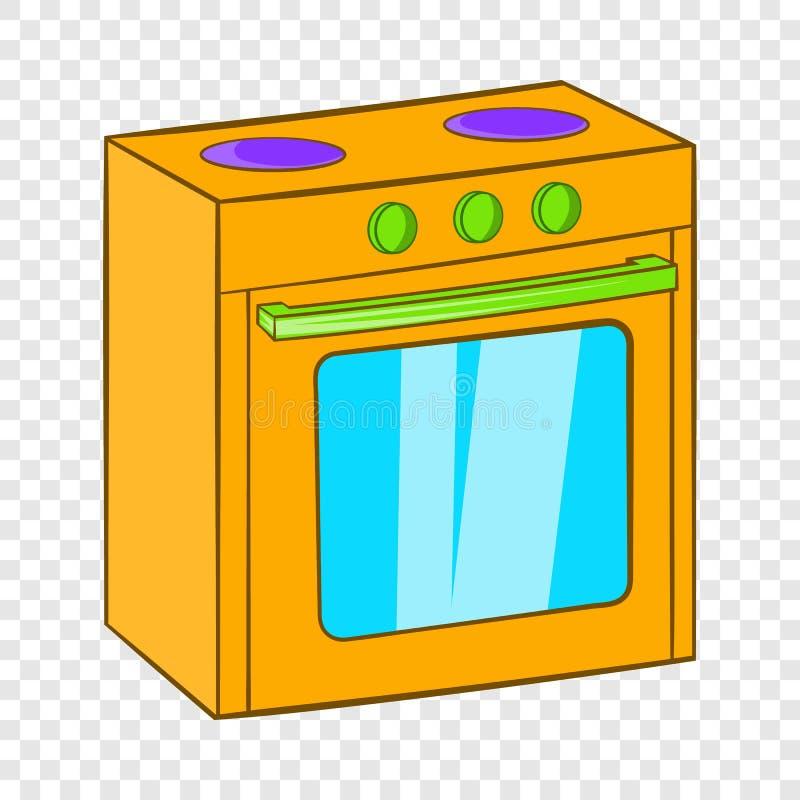 Gasherdikone, Karikaturart stock abbildung