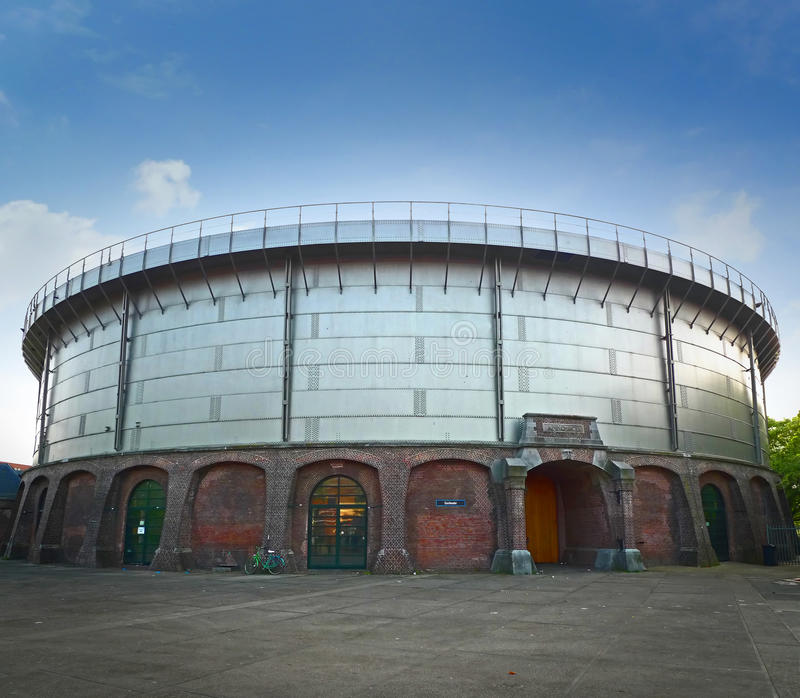 Gashouder building royalty free stock photo