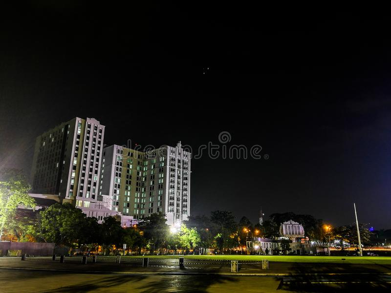 Gasibu Bandung from indonesia royalty free stock photography