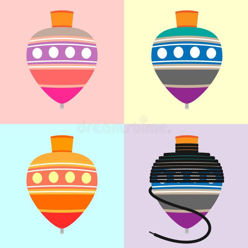 Gasing royaltyfri illustrationer