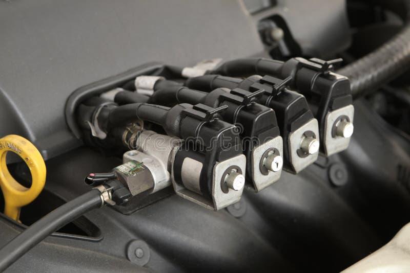Gasinjektor CNG NGV stockfoto