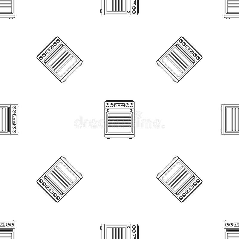 Gaskocherikone, Entwurfsart stock abbildung