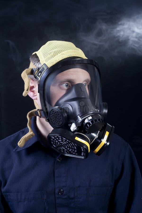 gasmask arkivfoton