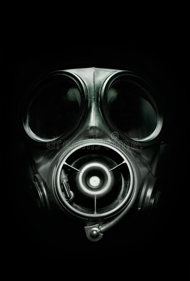 gasmask s10 royaltyfria foton