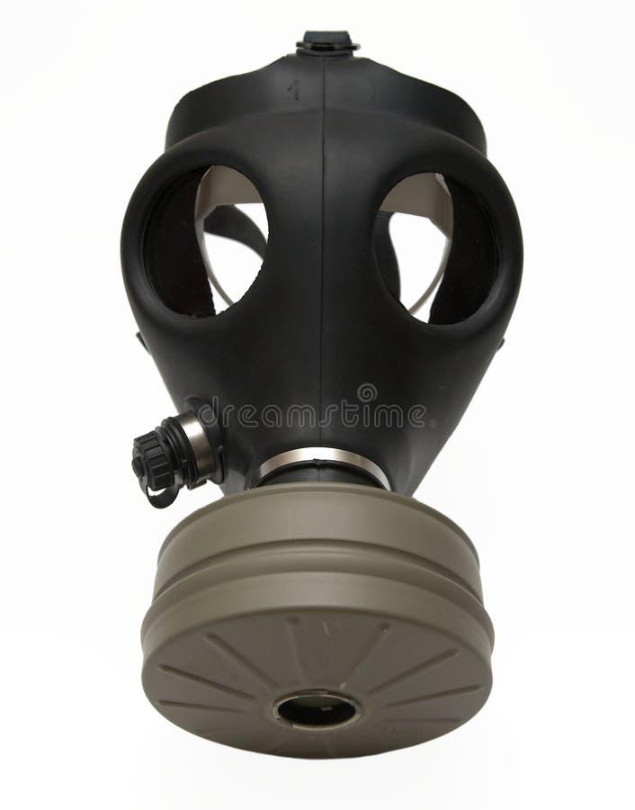 Gasmaske getrennt lizenzfreies stockbild