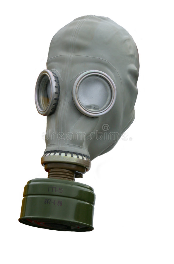 Download Gasmasker stock foto. Afbeelding bestaande uit oorlogvoering - 47614