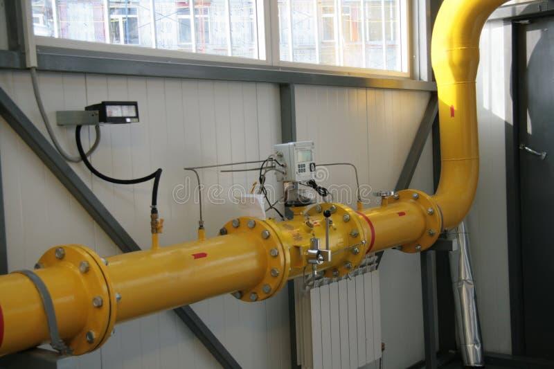 Gasmeter stockbilder