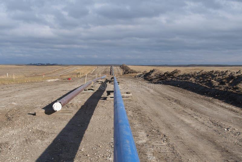 Gasoduto natural foto de stock
