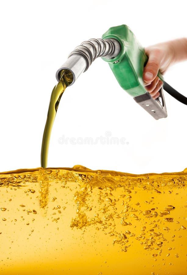 Gasolina de la bomba fotos de archivo