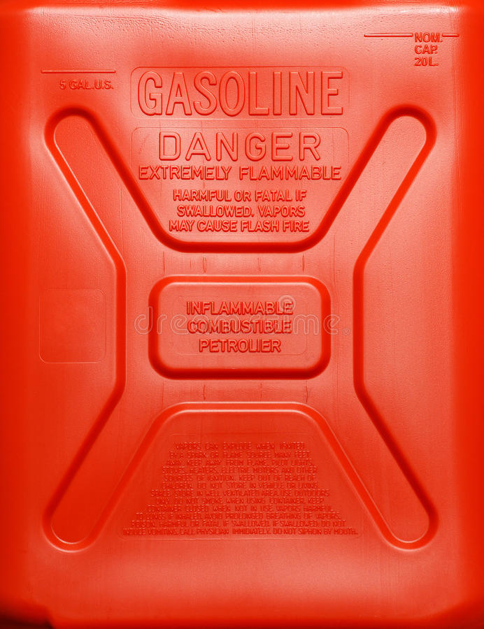 Gasoline Can Royalty Free Stock Photo