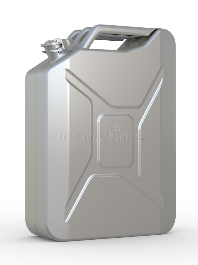 Gasoline Canister Royalty Free Stock Photos