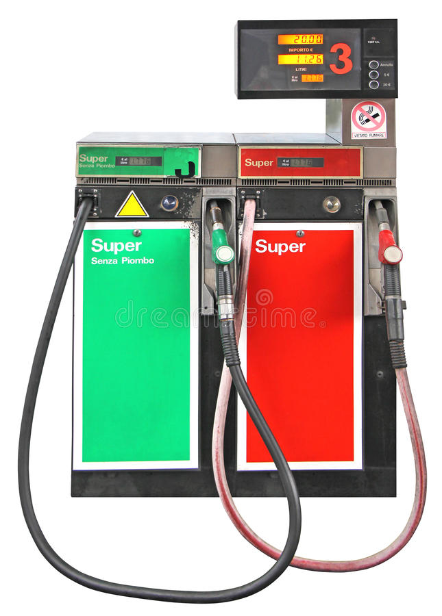 Free Gasoline Pump Royalty Free Stock Image - 36916956