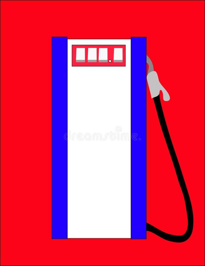 Gasoline pump. royalty free illustration