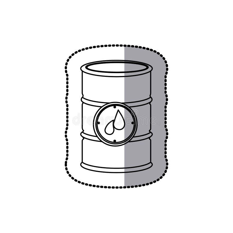 gasoline tank icon stock stock illustration