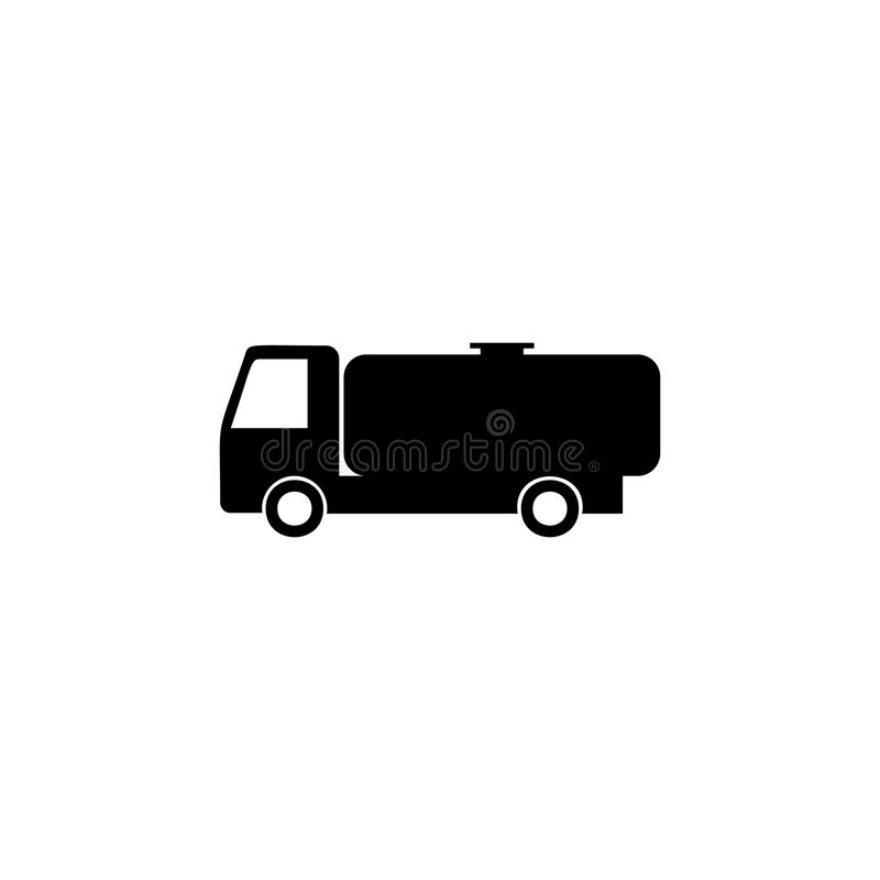 Gasoline tanker icon. Element of car type icon. Premium quality graphic design icon. Signs and symbols collection icon for website stock illustration