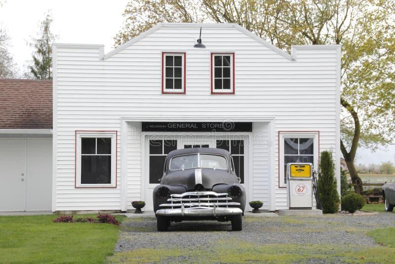 Gasolinera de antaño imagen de archivo libre de regalías