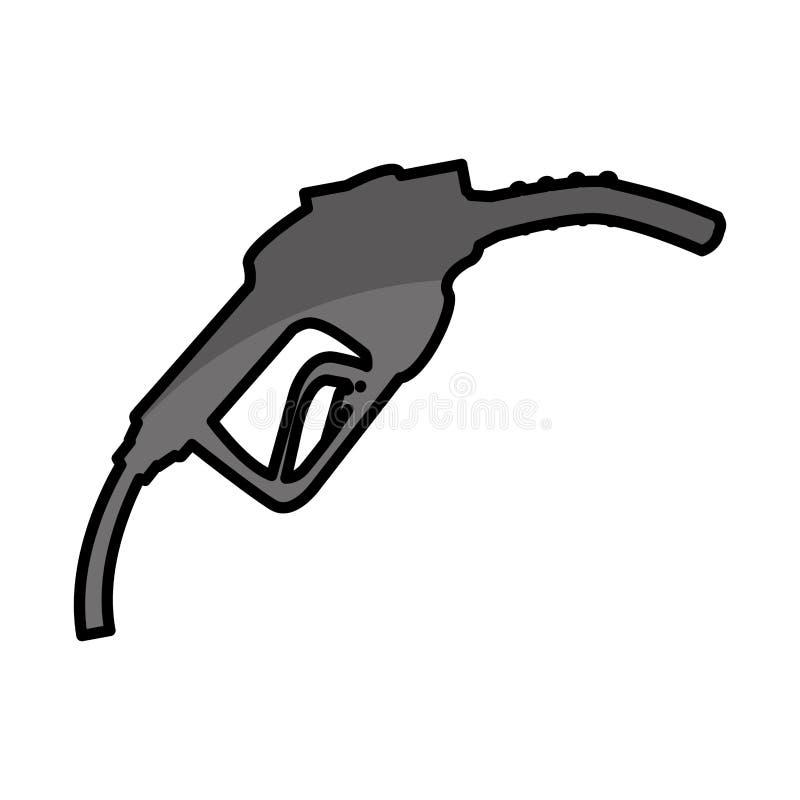 gasolinera del combustible del arma libre illustration