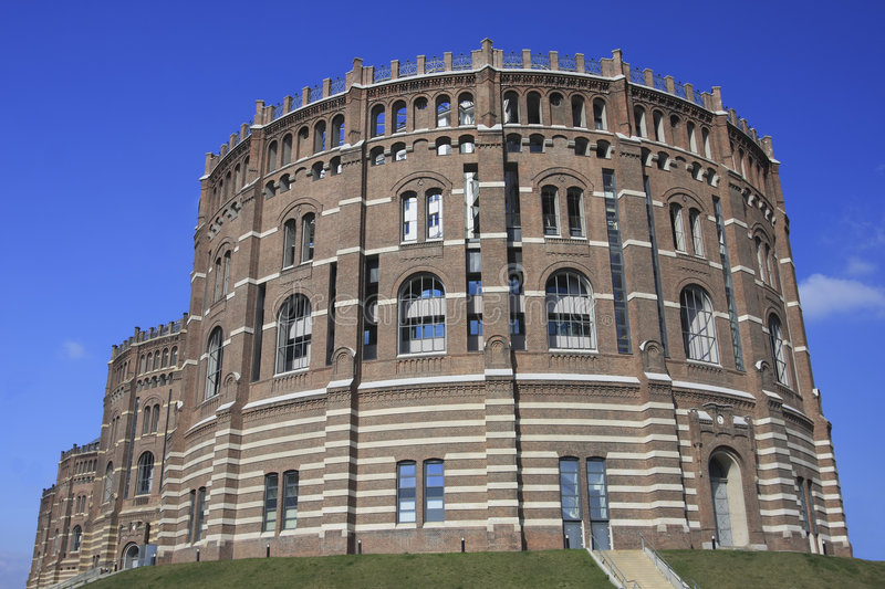 Gasometer in Wien stockfoto