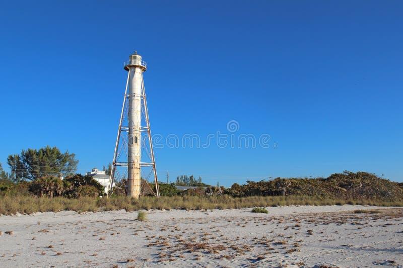 Gasparilla Insel-Rückseiten-Reichweiten-Leuchte, Florida lizenzfreies stockfoto