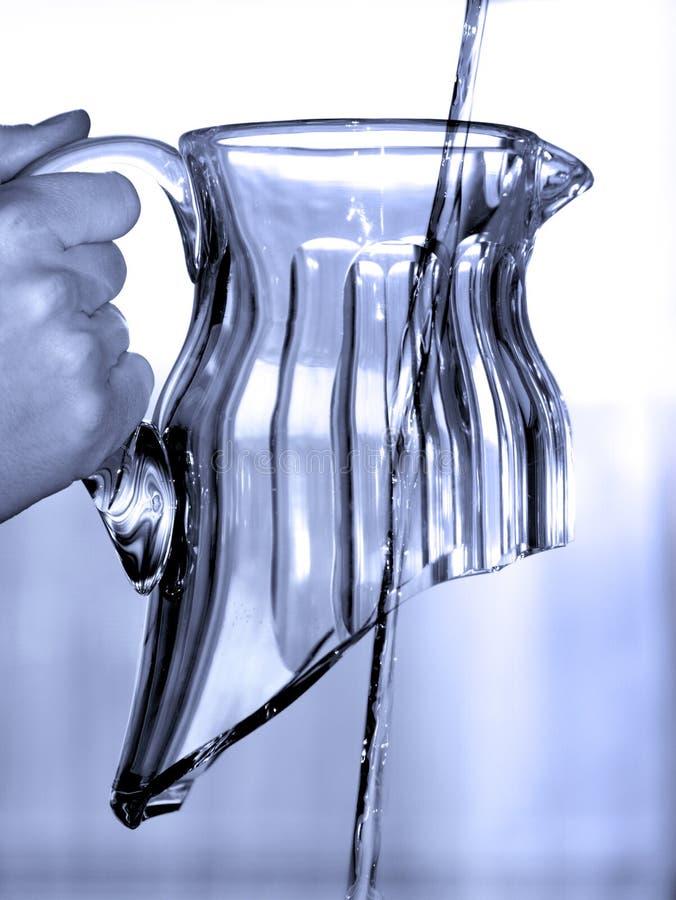 Gaspillage de l'eau photo libre de droits